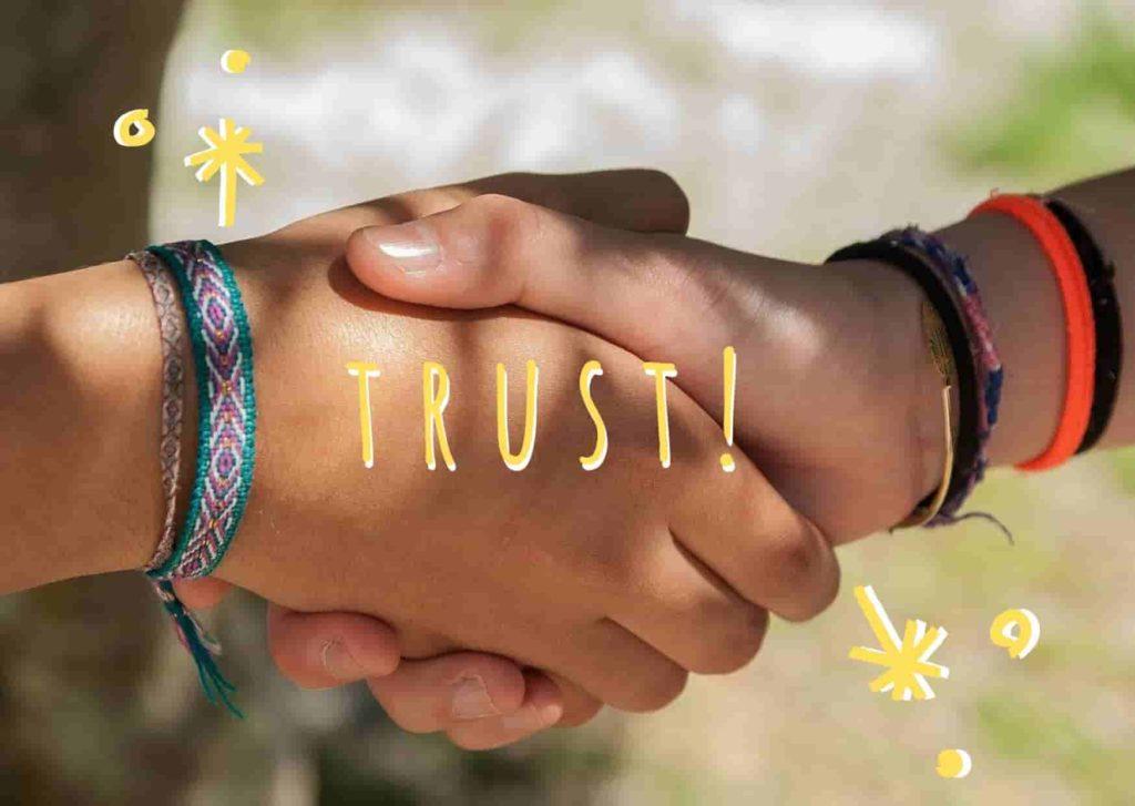 信頼の画像