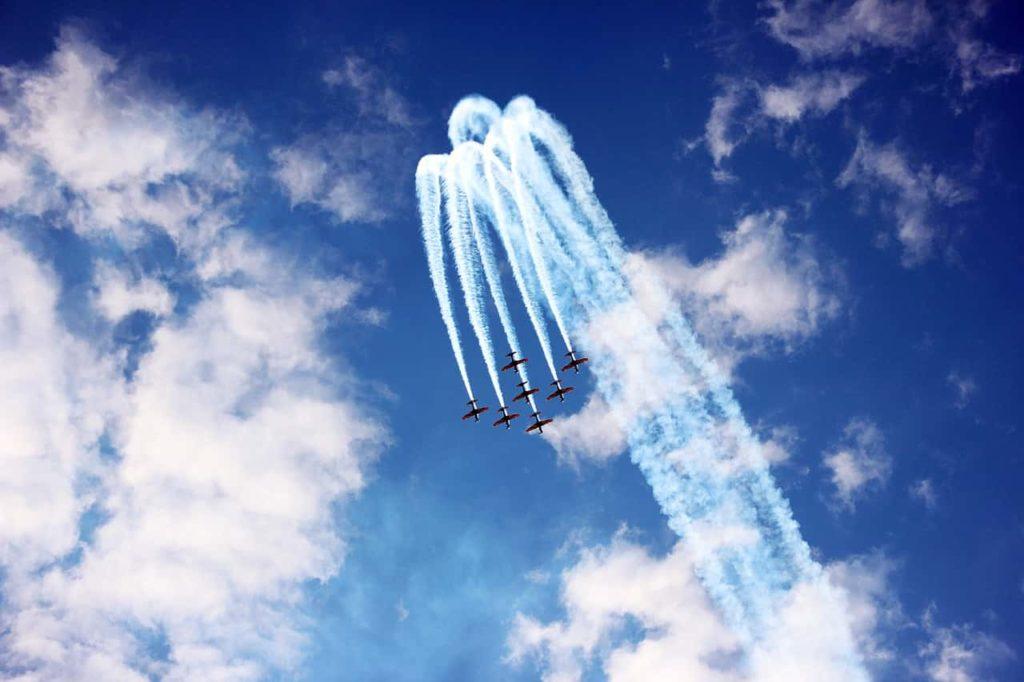飛行隊の画像